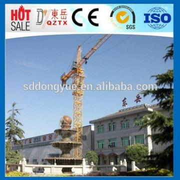 China Luffing Self erecting Mini Tower Crane Price
