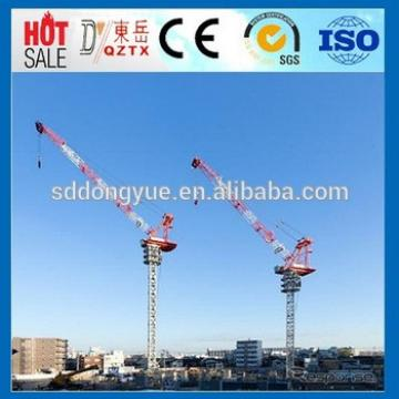 D250 12t Industrial and Building luffing tower crane manufacturers