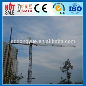 6T 56m jib Tower crane QTZ5610 tower crane price CE, ISO with good quality