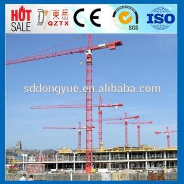 Construction types of tower crane, specification tower crane mini manufacturer QTZ100