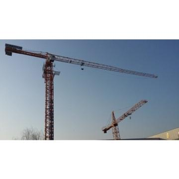 Flat top tower crane construction equipment used for building construction from China