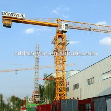 6t small self erect tower crane hot sale in dubai with factory price