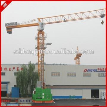 Self-lifting tower crane