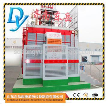 ISO CE approved electric construction elevator