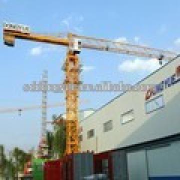 QTZ100 PT5613/5610 flat top tower crane