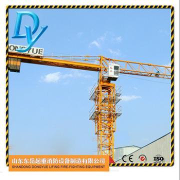 QTP5010, 4t max load, 50m jib, 1.0t tip load, china topless tower crane