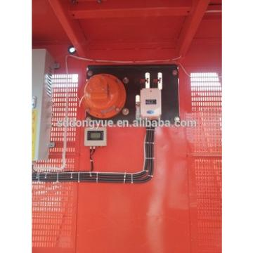Rack and pinion construction hoist for lifting passengers, materials under high rise building construction site with CE approved