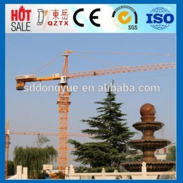 10t tower crane price QTZ160 topkit tower crane