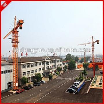 Luffing jib used tower cranes price in dubai mini tower crane price