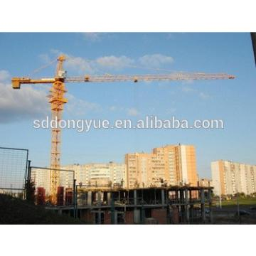 10t self erection construction crane for sale in south-east asia