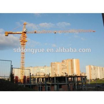 TC5610, 56m arm length, 1.0t tip load, 6t tower crane