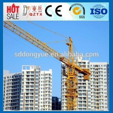 Hydraulic tower crane specification lifting capacity with ISO Certificate QTZ63 5010