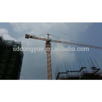 TC6015 tower crane, 1.5t tip load, 60m boom length, 8t china hot sale tower crane