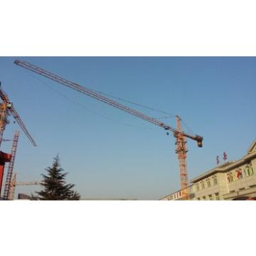 6t TC5013 50m boom electric tower crane