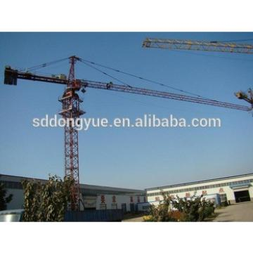 TC5010, 50m arm length, 1.0t tip load, 4t china tower crane