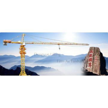 5t self erecting topkit tower crane, 50m span