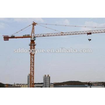 6t china famous tower crane with 50m boom length