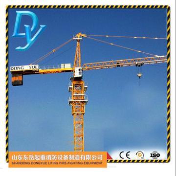 TC5010, 50m jib, 1.0t tip load, 5t, China tower crane