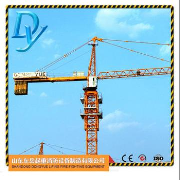 TC5008, 50m arm length, 0.8t tip load, 4t chinese tower crane
