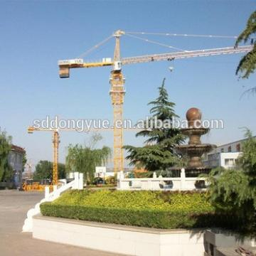 4t small chinese electric self erect tower crane fixed type