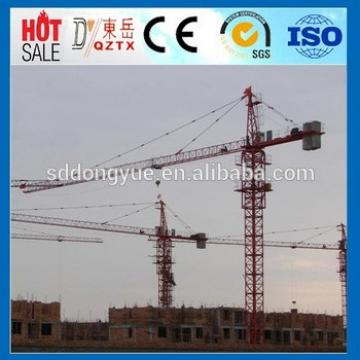 New product Dongyue QTZ6516 10t tower crane price is best