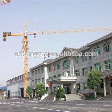 CE,SGS,ISO QTZ80 tower crane manufacturers or tower crane price and tower crane