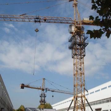 China Moblie Rail QTZ500 Construction Tower Crane For Sale