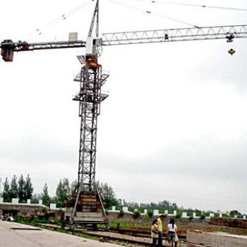 Hongda Self Rising Travelling Slewing Motor Tower Crane