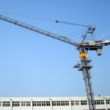 Shandong Hongda CE Approved Self-erecting Level Luffing Tower Crane