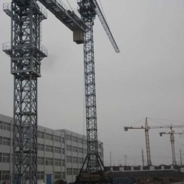 High Efficiency 4t Mini Moblie Rail Tower Crane For Sale