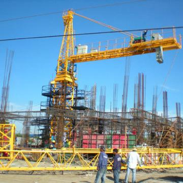 4ton Self Erecting Tower Crane With Ce Iso Certificate Good Price