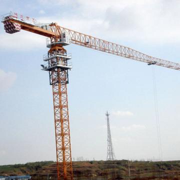 China Hongda 6T Flat Top Tower Crane With CE Certificate