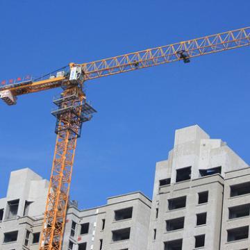 QTP80 6t Loading Capacity Topless 55m Jib Length Tower Crane