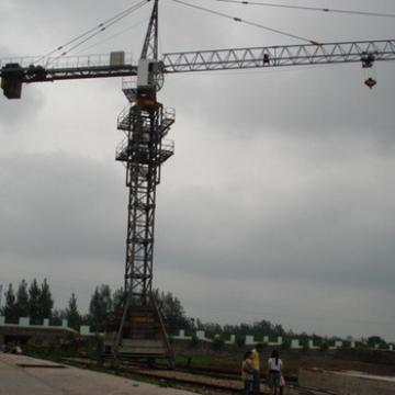 Shandong Hongda 25ton Mobile 80m Jib Length Tower Crane