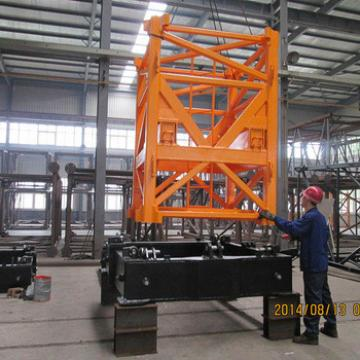 6ton Types Of Inner Climbing Iuffing Tower Crane For Sale