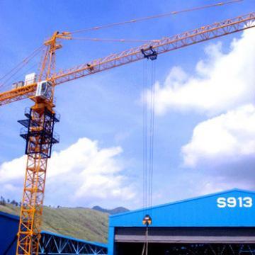 Chinese Pillar Fixed Jib Boom Tower Crane Foundation