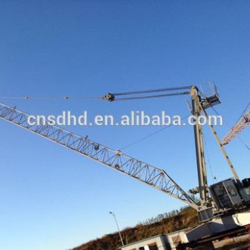 Hongda 10t small lifting roof tower crane machine