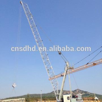 Hongda QTZ 10t electric roof tower crane