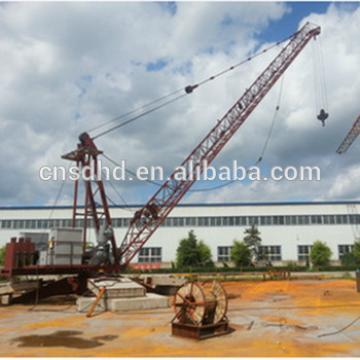 Low price QTZ 10t roof tower crane lifting machine