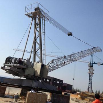 China Hongda QTZ 74.5kw Roof Tower Crane Machine