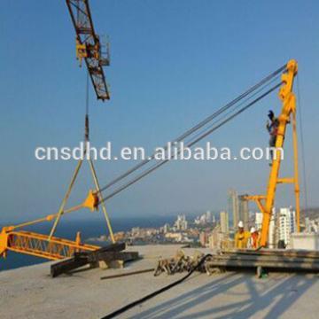 China brand new QTZ 10 tons derrick tower crane