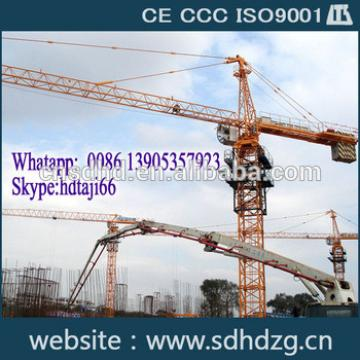 New QTZ160(6516) 10t tower crane price for sale with CE/CCC/ISO9001 Certificates for sale