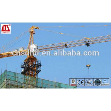 6T crane tower QTZ63B(5610) tower crane CE, ISO with good quality