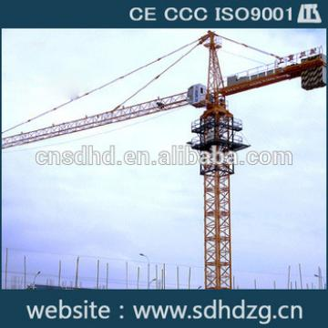 QTZ80 tower crane price for sale load 8t crane