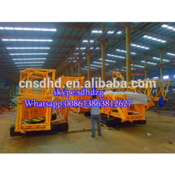 25m jib length with 2t loading mobile tower crane fast erecting tower crane