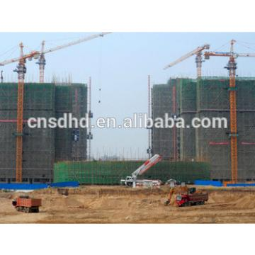 QTZ80 hammer head tower crane/building tower crane /8t crane