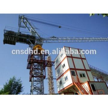 50m jib with 10t inside climbing luffing tower crane