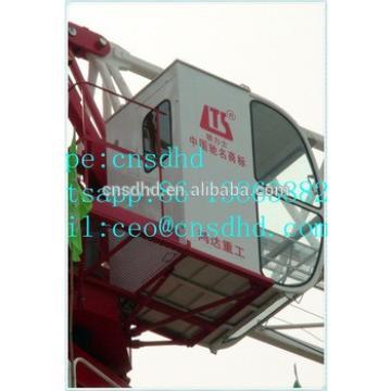 Hongda QTP125(6013) flat top tower crane 8t topless tower crane