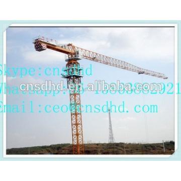 Shandong Hongda QTZ80(5511) 6t topless tower crane QTZ100(5515) 8t flat top tower crane