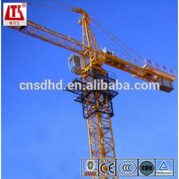 New QTZ80 tower crane